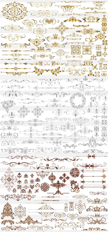 豪華・高級素材集 | illustratorの豪華・高級イラスト素材(ai・eps